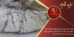 مرکز تولید خاویار در ایران